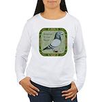 Show Racer Portrait Women's Long Sleeve T-Shirt