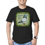 Show Racer Portrait Men's Fitted T-Shirt (dark)