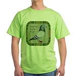 Show Racer Portrait Green T-Shirt