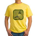 Show Racer Portrait Yellow T-Shirt