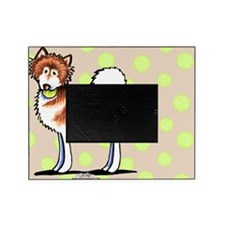 Alaskan Malamute Playtime Taupe Picture Frame