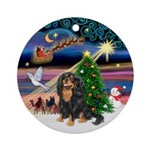 XmasMagic-Cavalier (BT) Ornament (Round)
