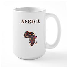 African Tapestry Mug