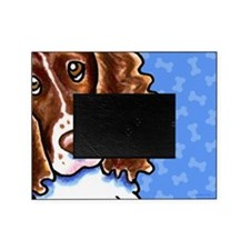 Springer Spaniel Cute Dog Bones Picture Frame