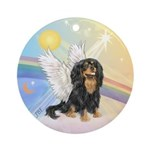 Clouds - Cavalier Angel (bt) Ornament (Round)