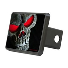 Red Eyed Skull Hitch Cover