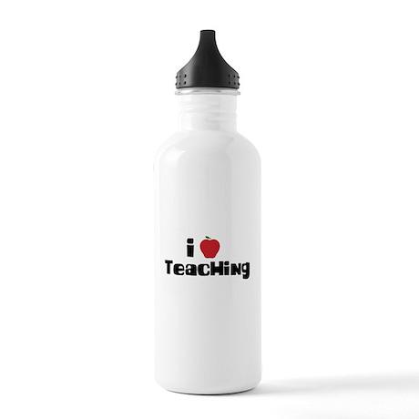 I Heart Teaching Stainless Water Bottle 1.0L