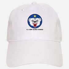 U.S. Army Alaska (USARAK) with Text Baseball Baseball Cap