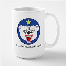 U.S. Army Alaska (USARAK) with Text Mug