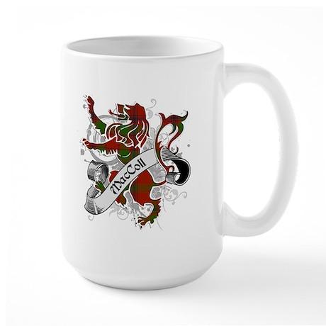 MacColl Tartan Lion Large Mug