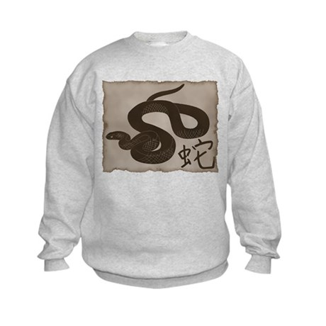 Year of The Snake Kids Sweatshirt