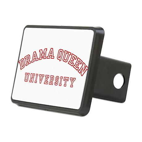 Drama Queen University Rectangular Hitch Cover