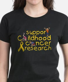 Support Childhood Cancer Research Tee