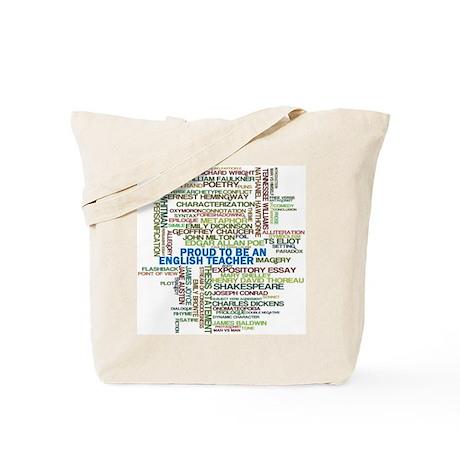 Proud English Teacher Tote Bag