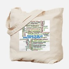 Proud English Teacher Tote Bag