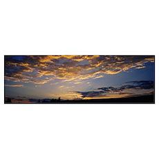 Sunrise over a landscape, Grand Teton National Par Poster