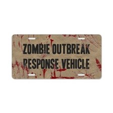 Zombie Outbreak Response Vehicle Aluminum License