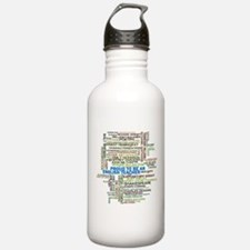 Proud English Teacher Water Bottle