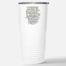 Proud English Teacher Stainless Steel Travel Mug