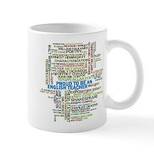 Proud English Teacher Small Mug