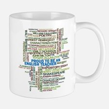 Proud English Teacher Small Small Mug