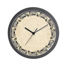 Wealey Family Clock Wall Clock