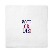 VOTE OR DIE Queen Duvet