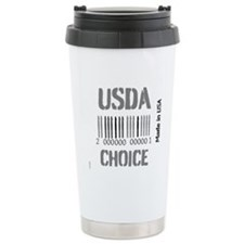 OYOOS USDA Choice Barcode design Travel Mug