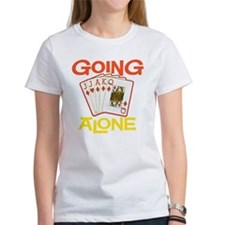 GoingAloneEuchreBlkTee T-Shirt