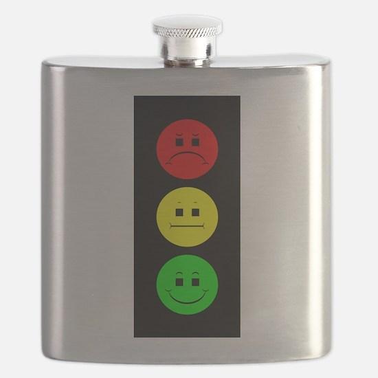 Moody Stoplight Flask