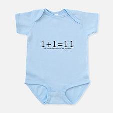 Binary Family Math Infant Bodysuit