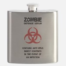 Zombie Defense Serum Flask