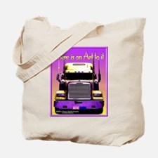 """Art of Trucking"" Tote Bag"