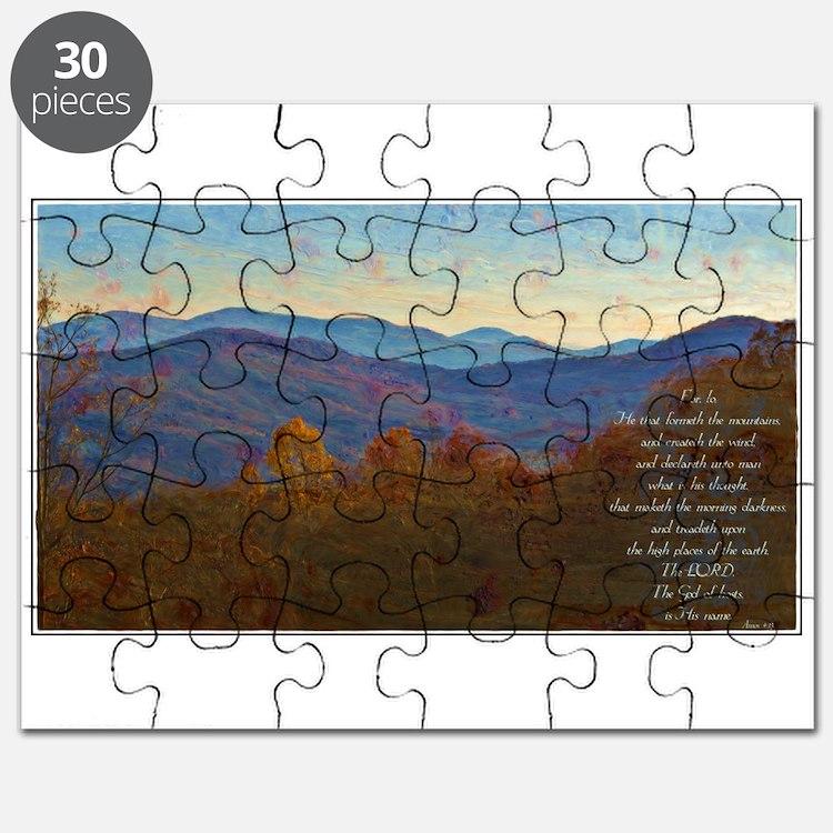 Amos 4:13 Puzzle