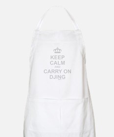 Keep Calm And Carry On DJing Apron
