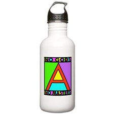 No Gods No Masters Water Bottle