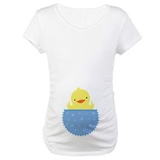 Easter Baby Chick Belly Print Shirt