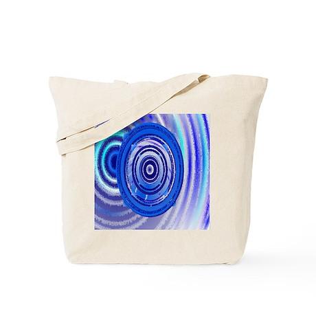 Scratch Circle Tote Bag