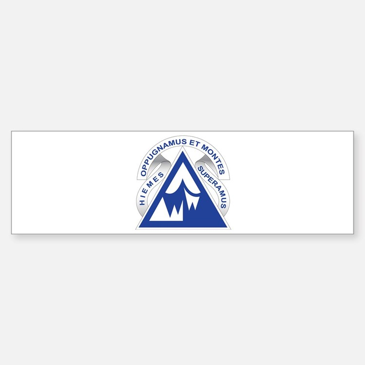 Northern Warfare Training Center (NWTC) Bumper Bumper Sticker