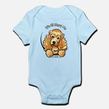 Cocker Spaniel IAAM Infant Bodysuit