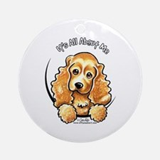 Cocker Spaniel IAAM Ornament (Round)