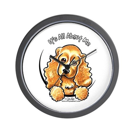 Cocker Spaniel IAAM Wall Clock