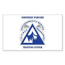 Northern Warfare Training Center (NWTC) with Text