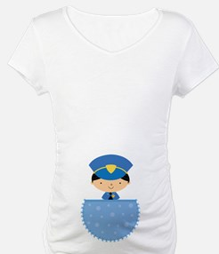 Future Police Officer Baby Boy Pregnancy Shirt