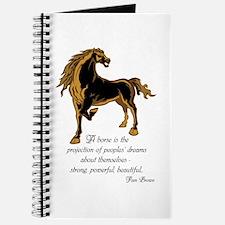 Strong powerful beautiful Journal