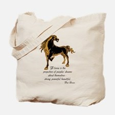 Strong powerful beautiful Tote Bag