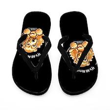 Cocker Spaniel IAAM Flip Flops