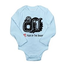 Year of The Snake Long Sleeve Infant Bodysuit