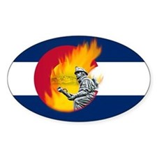 Black Forest Fire, Colorado Springs Decal