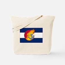 Black Forest Fire, Colorado Springs Tote Bag